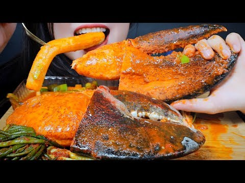Asmr Eating Giant Lobster Claw And Giant Spicy Rice Cake Green Onion Kimchi Eating Sounds Linh Asmr The Asmr Index Asmr (autonomous sensory meridian response) is a euphoric experience identified by a tingling sensation that triggers positive feelings, relaxation and focus. the asmr index