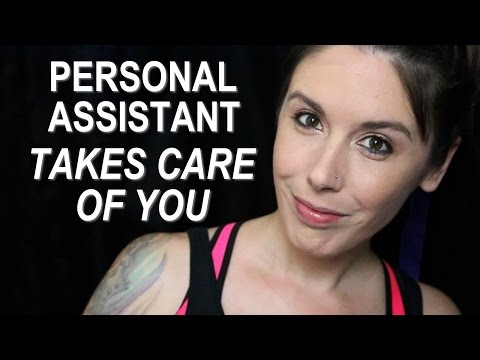 👂ASMR Ear Cleaning, Massage & Pampering Personal Attention💖 Personal Assistant Role Play (3Dio)