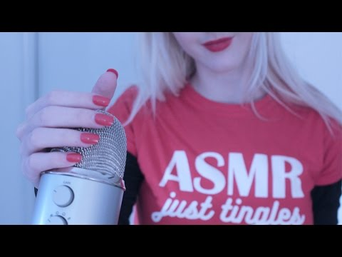 ASMR Microphone Brushing, Scratching, Tapping & Whispers ♡ Relaxing Sleep Triggers