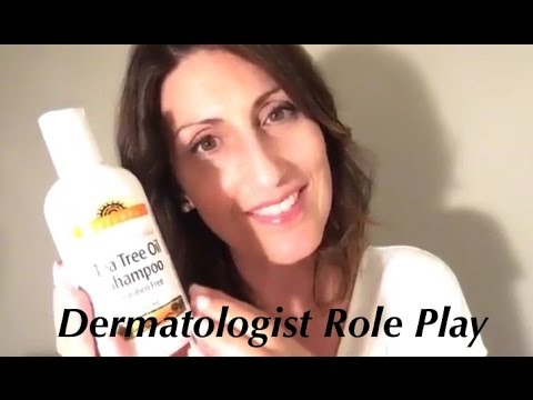 Binaural ASMR Dermatologist Consultation Role Play with Scalp Analysis | Personal Attention