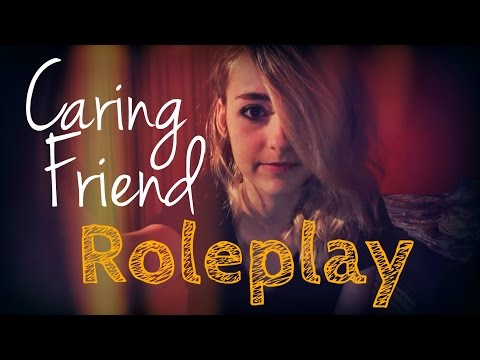 ASMR Caring Friend RP; Hand Massage; Lotion Sounds; Unisex Roleplay