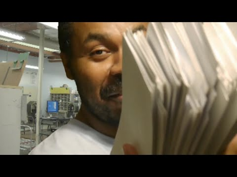 ASMR Post Office Roleplay   Mail Delivery   Postal Worker   Letter Sounds (Ear to Ear)
