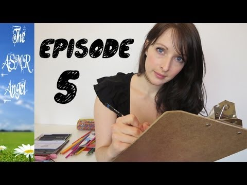 Art With Angel - ASMR Face / Portrait Sketching with Charcoal EP5