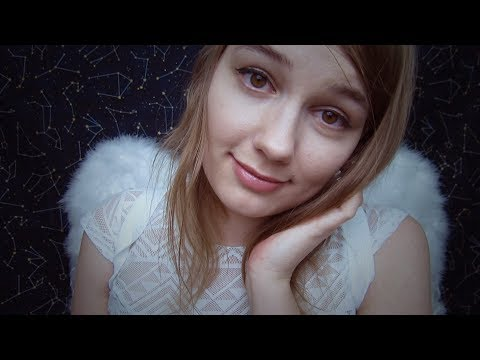 ASMR Your Guardian Angel Roleplay ☁️ Positive Affirmations for Self-Harm & Depression