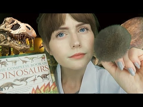 [ASMR] Palaeontologist Roleplay- cleaning, inspecting and measuring you