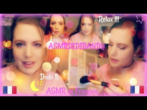 ASMR Français Roleplay Maquillage ~ Chuchotements et bruits relaxants
