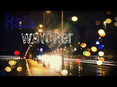 Rain Watcher 1 :: Nighttime Stroll for ASMR and Relaxation