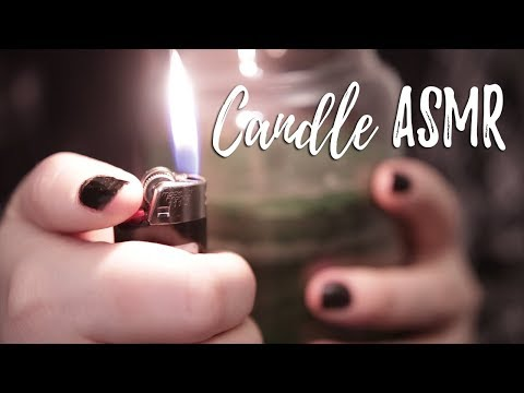 🕊️ ASMR▪️AVRIC // Candle Tingles! [tapping] [fire sounds] [ear cupping]