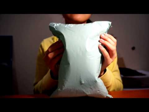 ASMR ★ My first ASMR video (whispered intro + crinkly bag sounds)