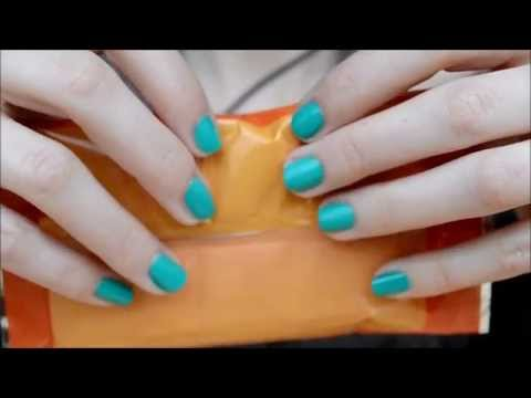 ASMR Sounds & Visuals: Crinkle Objects
