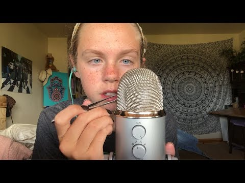 ASMR Cleaning the Mic