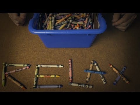 The ASMR Container of Crayons