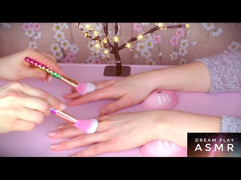 ★ASMR [german]★ Relaxing Hand Tickling Massage and Manicure | Dream Play ASMR