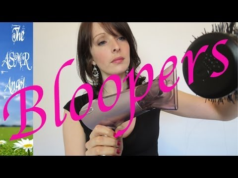Hairdresser Role Play Bloopers - Not ASMR