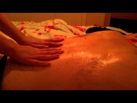 Soft speaking real life back massage *my 1st role play video*