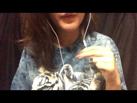 ASMR iPhone Mic Sounds (Gum, Close-up Whispering, Mic Nibbling)