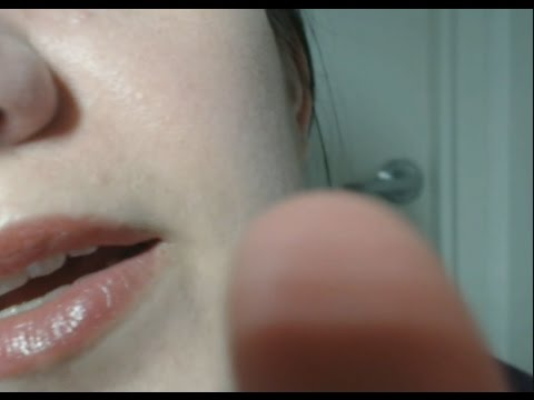 ASMR Face Mapping and Tender Touch - Super Close Up