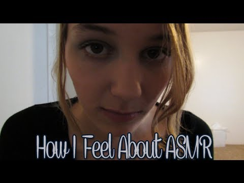[BINAURAL ASMR] How I Feel About ASMR (gum, close up ear-to-ear whispering)