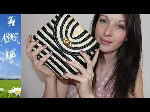 6 Minute ASMR Sounds - Scratching a Wicker Bag