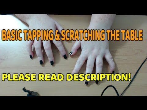 ASMR   5 minute FAST basic tapping& scratching \\\READ DESC///