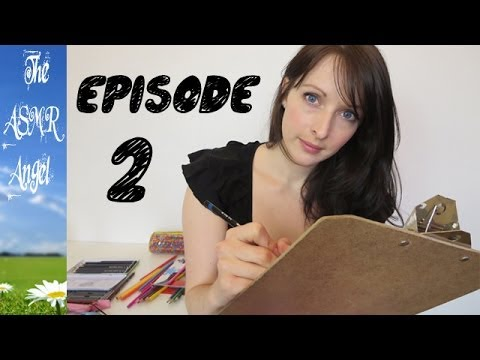 Art With Angel - ASMR Face / Portrait Sketching EP2