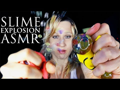 Satisfying Slime Fail That is Relaxing! ASMR Whispering, Squeezing, Squishy Toys
