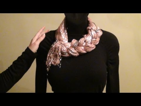 ~=~Relaxing Scarf wear Tutorial~=~