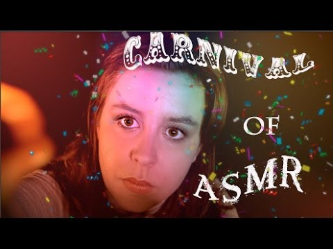 Carnival of ASMR (Ok, just Binaural Face Painting.)