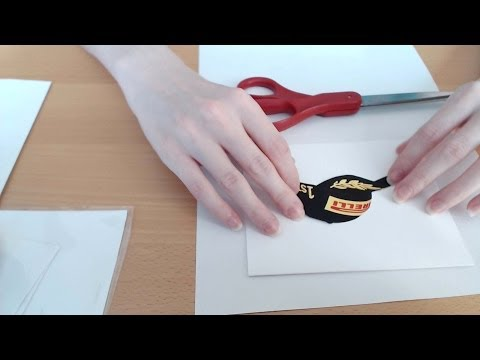 ASMR Close-Up Card Making for Father's Day
