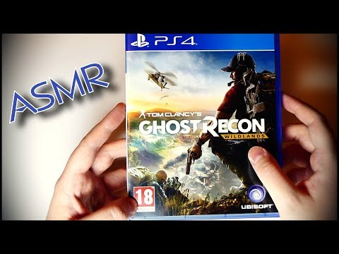165. Silent Unboxing: Ghost Recon (PS4 Game) - SOUNDsculptures - ASMR