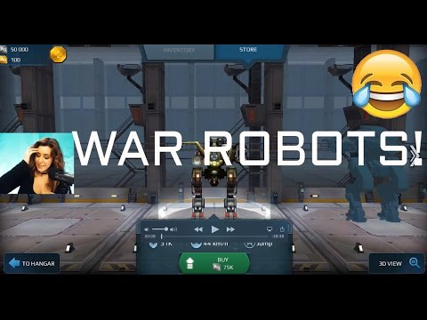 War Robots! (ASMR: Whisper Game Walk Through)