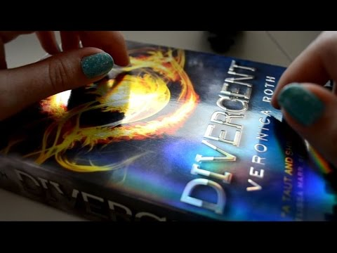 ASMR Fast & Slow Tapping on Book . Close Up Sounds & Visuals