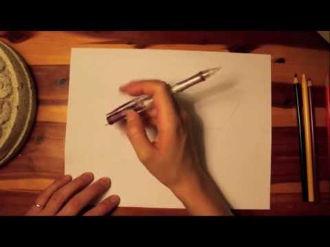 ASMR Drawing with Colored Pencils for Paul :)