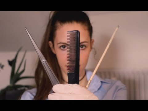 Scalp Check & Lice Extraction ASMR Roleplay