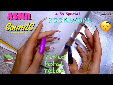 ⭐️SoundS⭐️ a so Special BOOKWORK into my hands💗Perfect Sweetie Noise for Tonight🍀Soft ASMR😴