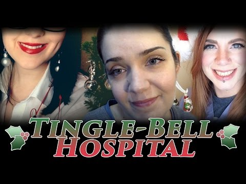 Tingle-Bell Hospital: ASMR Nurse Check-Up Before You Leave (Part 3)