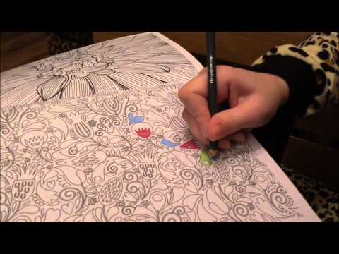ASMR Whisper - Art Therapy and Colouring