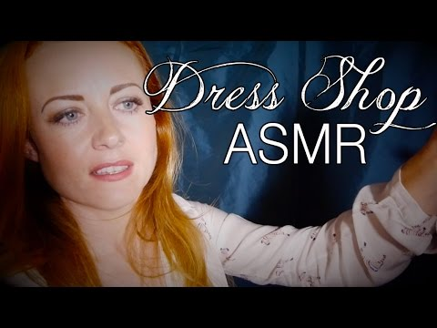 Relaxing Dress Shop   ASMR Role Play   Fabric Sounds, Soft Speaking & Whispering