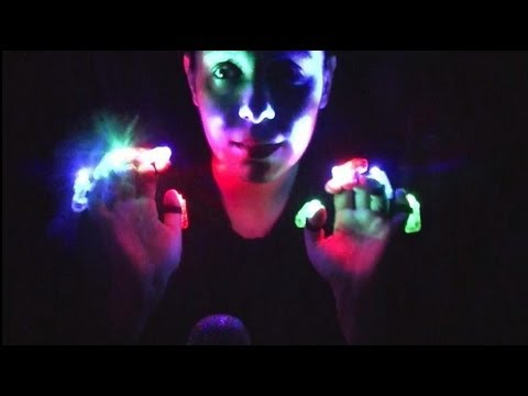 ASMR There's a Light:  Playing With Things That Illuminate The Night For Your Relaxation