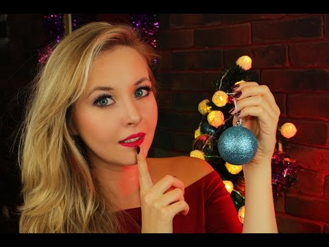 ☃ASMR ☃ Christmas kisses👄and your favorite triggers+eating sounds and close-up whispering☃