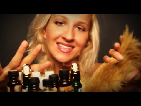 ·٠•●♥ Galore of ASMR TAPPING in AROMATHERAPY facial Massage role play: SLEEP well!