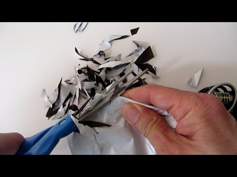 ASMR Cutting Bags and Papers - TimeASMR