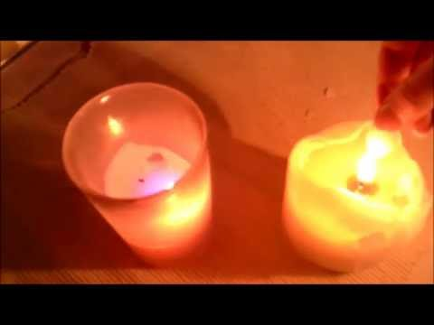ASMR Candle Flame Sounds - No Talking