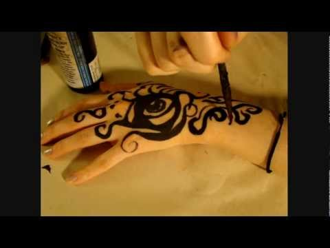 "ASMR hand painting: ""I love you"" soft spoken"