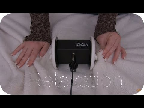 ASMR Blanket Sounds Around Your Head/On Your Ears - Ear Cupping/Touching – No Talking