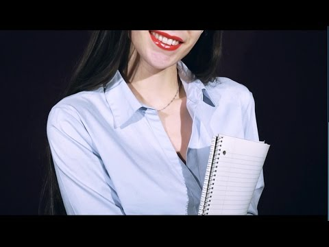 ASMR French Teacher Roleplay (Whisper, Personal Attention. Writing, Word Repetition)