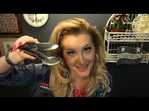 🎁 Ms. Miracle's Holiday Curse Removal #2 of 7: Kitchen Tongs (Binaural ASMR Role Play)