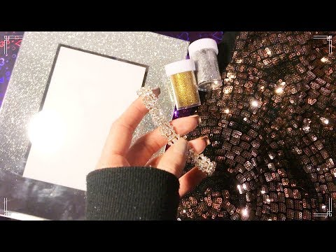 NEW YEAR'S EVE   everything sparkly ASMR