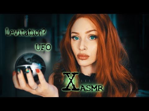 ASMR The X-Files UFO Video 👽 Dana Scully (Roleplay) 👽 Triggers: Paper • Keyboard • Tapping sounds