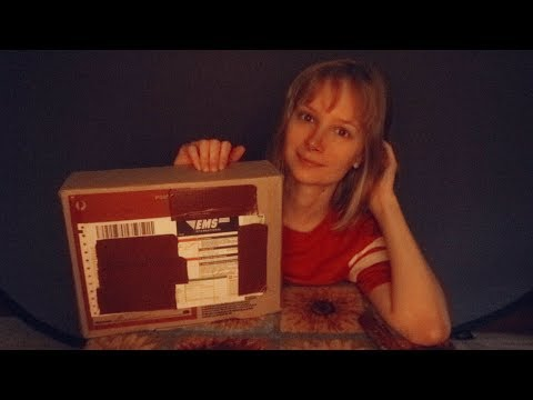 📦 ASMR Unboxing 📦 A Package from a Viewer ~ Crinkles, Soft Spoken, Fabric Sounds